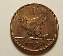 Ireland 1 Penny 1928 Varnished - Irlande