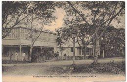 OCEANIE NOUVELLE CALEDONIE PITTORESQUE : Une Rue Dans CANALA - Nouvelle-Calédonie