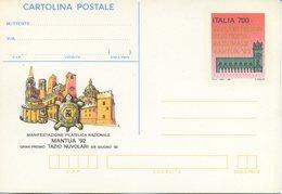 ITALIA - INTERO POSTALE 1992 - MANTUA 92 - NUOVA - 6. 1946-.. Repubblica