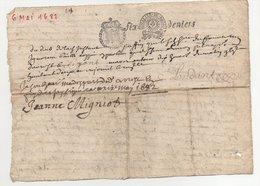 Acte 1682 Quart De Papier - Seals Of Generality