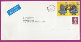 Great Britain - 1995 - Machin Machins On Cover 1p Slogan Have A Break Nestle Kit Kat London North - Machins