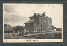 Oude Postkaart -. WILDERT  Statiezicht - Essen