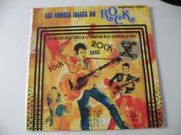 Les Années Folles Du Rock - (Titres Sur Photos) - Vinyle 33 T LP - Rock