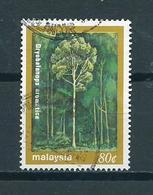 1981 Malaysia Trees Used/gebruikt/oblitere - Maleisië (1964-...)