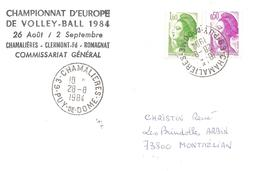 1984 Championnat D'Europe De Volley-Ball : Chamalières - Volley-Ball