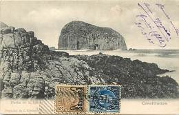 Pays Div -ref P939- Chili - Chile - Constitucion   -carte Bon Etat- - Chili