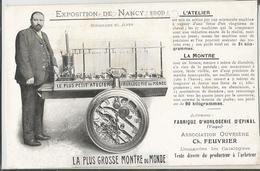 CPA - 88 - Fabrique De Montres D'Epinal - Exposition De Nancy - La Plus Grosse Montre Du Monde - Horlogerie - Epinal