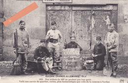 """23-AUBUSSON-GUERRE FRANCO-ALLEMANDE 1914-""""Nos Soldats Du 162e Ne Perdent Pas Leur Gaité...""""-Pierre MOTHE AUBUSSON-1915- - Aubusson"""