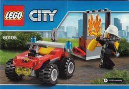 Plan  Lego System 60105 Pompiers - Plans