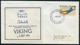 1976 Australia Tharwa Viking Space Rocket Cover - 1966-79 Elizabeth II