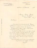 Vieux Papier - Allier 03 - Dompierre-sus-Besbre - Sept-Fons - Etablissement Agricole - Novembre 1908 - Frankreich