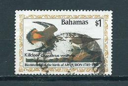 1985 Bahamas $1.00 J.Audubon Used/gebruikt/oblitere - Bahama's (1973-...)