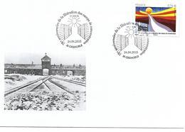 GUERRE 1939 1945 - ANNIVERSAIRE LIBERATION CAMPS DE CONCENTRATION - GRENOBLE 2015 - FDC - WW2