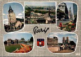 75 PARIS  MULTI-VUES - Multi-vues, Vues Panoramiques
