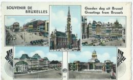 Brussel - Bruxelles - Souvenir De Bruxelles - Goeden Dag Uit Brussel - Photocolorplastifix A. Dohmen - België
