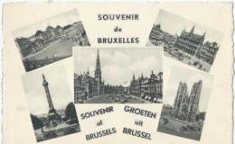 Brussel - Bruxelles - Souvenir De Bruxelles - Groeten Uit Brussel - Ern. Thill Série 1 No 53 - België