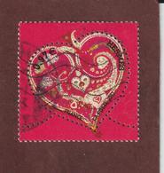 """4718 De 2013 - Gommé Oblitéré Cachet Rond - 0,97€ - Saint Valentin """"De Tout Coeur"""" Hermès - 2010-.. Matasellados"""