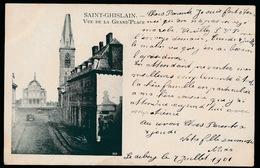 SAINT GHISLAIN   VUE DE LA GRAND'PLACE - Saint-Ghislain
