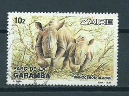 1984 Zaïre Rhinoceros Used/gebruikt/oblitere - Zaire