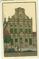 Fürstenfeldbruck; Kgl. Hofkirche - Nicht Gelaufen. (Worderer - Fürstenfeldbruck) - Fuerstenfeldbruck