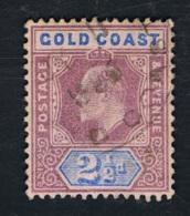 1802 King Edward VII Gold Coast Mi GB-GC 37 Sn GB-GC 41 Yt GB-GC 41  Gestempelt O - Goldküste (...-1957)