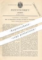 Original Patent - F. Baumann , Kohlscheidt , 1883 , Stützen Zum Heben U. Senken Im Bergbau   Bergwerk , Förderung !!! - Historische Dokumente