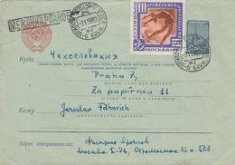 GOOD USSR Postal Cover To CZECHOSLOVAKIA 1958 With Censor Cancel - MESHDUNARODNOE - 1923-1991 URSS