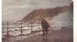 """A Rough Sea In The North Bay. Scarborough"" Tuck Oilette View PC # 775 - Tuck, Raphael"