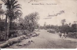 28096Marrakech, Vue Des Environs (taches D'encre) - Marrakech