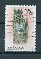 1987 Zimbabwe Uil,owl,eule 35 Cent Used/gebruikt/oblitere - Zimbabwe (1980-...)