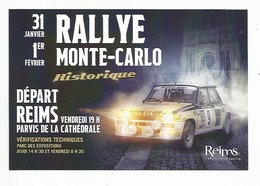 RALLYE MONTE CARLO Historique  - Renault 5 Turbo - Jean Ragnotti - Rallyes