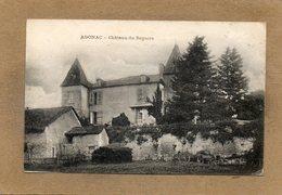 CPA - AGONAC (24) - Aspect Du Château Du Repaire En 1922 - France