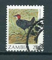 1987 Zambia 25n Birds,oiseaux,vögel Used/gebruikt/oblitere - Zambia (1965-...)