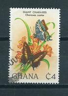 1982 Ghana Vlinders,papillon Used/gebruikt/oblitere - Ghana (1957-...)