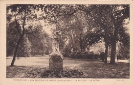 TOULOUSE. UNE PELOUSE DU JARDIN DES PLANTES, LE RETOUR... HELIO 15. LABOUCHE FRERES. CIRCA 1930s NON CIRCULEE - BLEUP - Toulouse