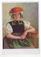 Y9890/ VDA AK  Trachten Schwarzwälderin Aus Gutasch R. Risch  Ca.1935 - Trachten & Folklore