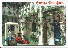 CPM   Espagne   Costa Del Sol   Patio Andalou Typique - Espagne