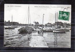 Ares - La Jetée à Marée Haute - Arès