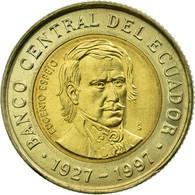Monnaie, Équateur, 70th Anniversary - Central Bank1997, 1000 Sucres, 1997 - Equateur