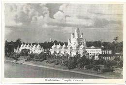 W761 India - Dakshineswar Temple - Calcutta / Viaggiata 1962 - India