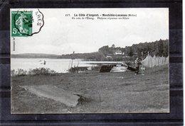 Moutchic-Lacanau - Un Coin De L'étang (pêcheur Réparant Ses Filets) - France