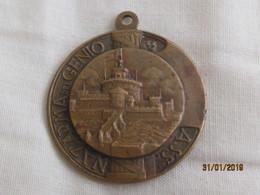 Medaglia Associazione  Nazionale Arma Del Genio 1940 Santa Barbara - Italie
