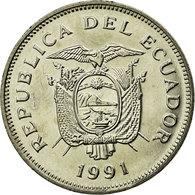 Monnaie, Équateur, 20 Sucres, 1991, TTB, Nickel Clad Steel, KM:94.2 - Ecuador