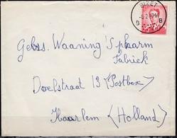 925 Met Stempel Bizet Op Brief Naar Nederland - 1953-1972 Lunettes