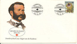 South Africa RSA Cover 8-5-1978 Henry Dunant Red Cross With Cachet - Croix-Rouge