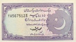 Pakistan 2 Rupees, P-37 - UNC - Signature 13 - Pakistan