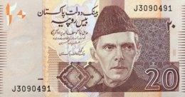 Pakistan 20 Rupees, P-46a (2005) - UNC - Pakistan