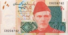 Pakistan 20 Rupees, P-46c (2007) - UNC - Pakistan