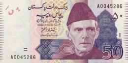 Pakistan 50 Rupees, P-47b (2008) - UNC - Pakistan