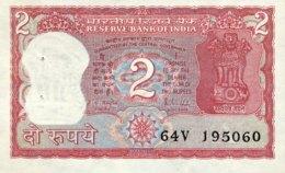 India 2 Rupees, P-53Ac - UNC - Signature 85 - Indien